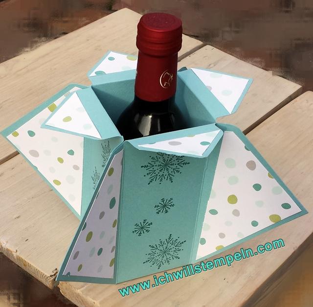 Weinflaschen-Verpackung- ichwillstempeln