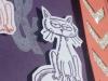 Glitzer Katzenkarte Zusammenhalt 2