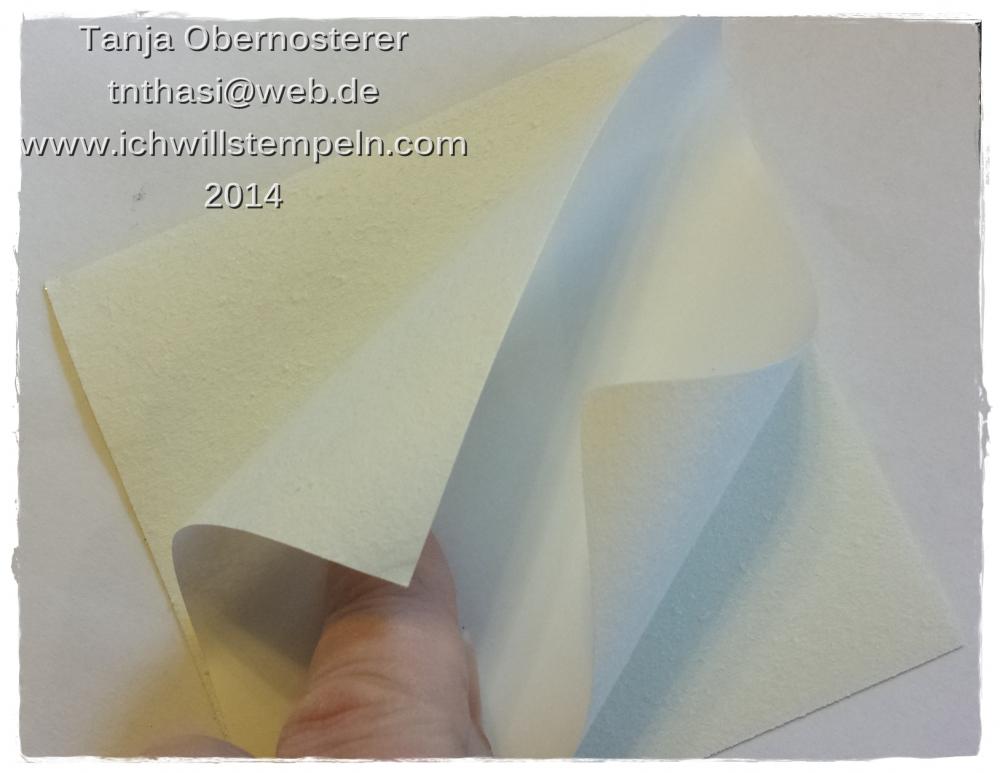 Glitzerpapier abziehen 2