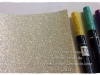 Glitzerpapier einfaerben Stifte 1
