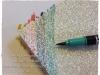 Glitzerpapier einfaerben Stifte 2