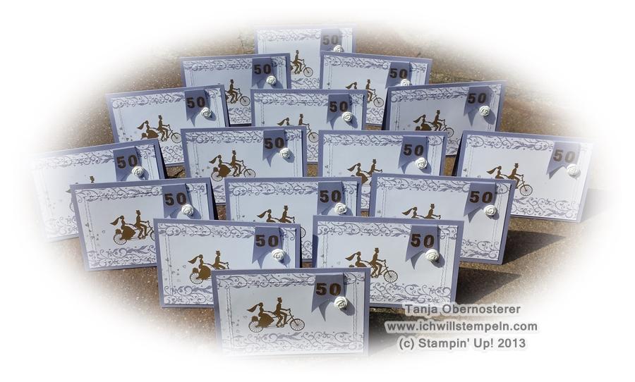GoldeneHochzeitskarte embossing -ichwillstempeln