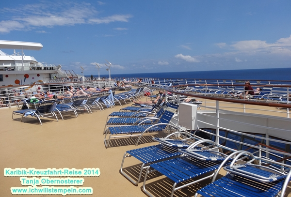 Deck allure of the Seas