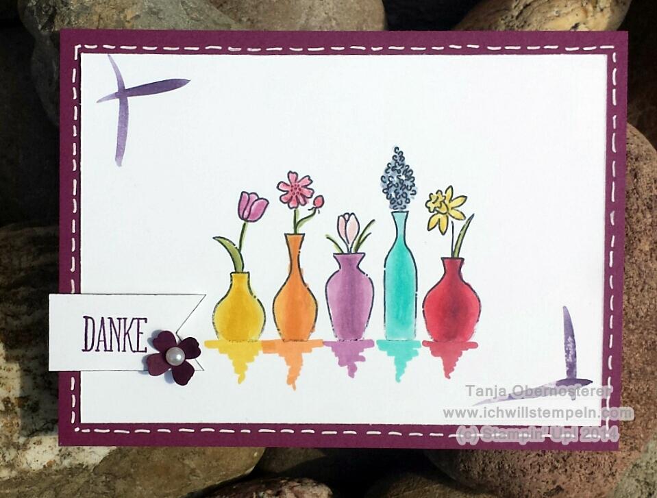 Mix Marker Vase ichwillstempeln