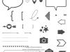 Klarsichtstempelset Project Life Point & Click