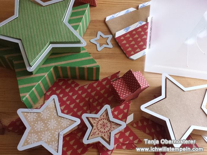 Sternenbox mit Framelits