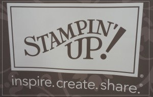 stampin up Fahne