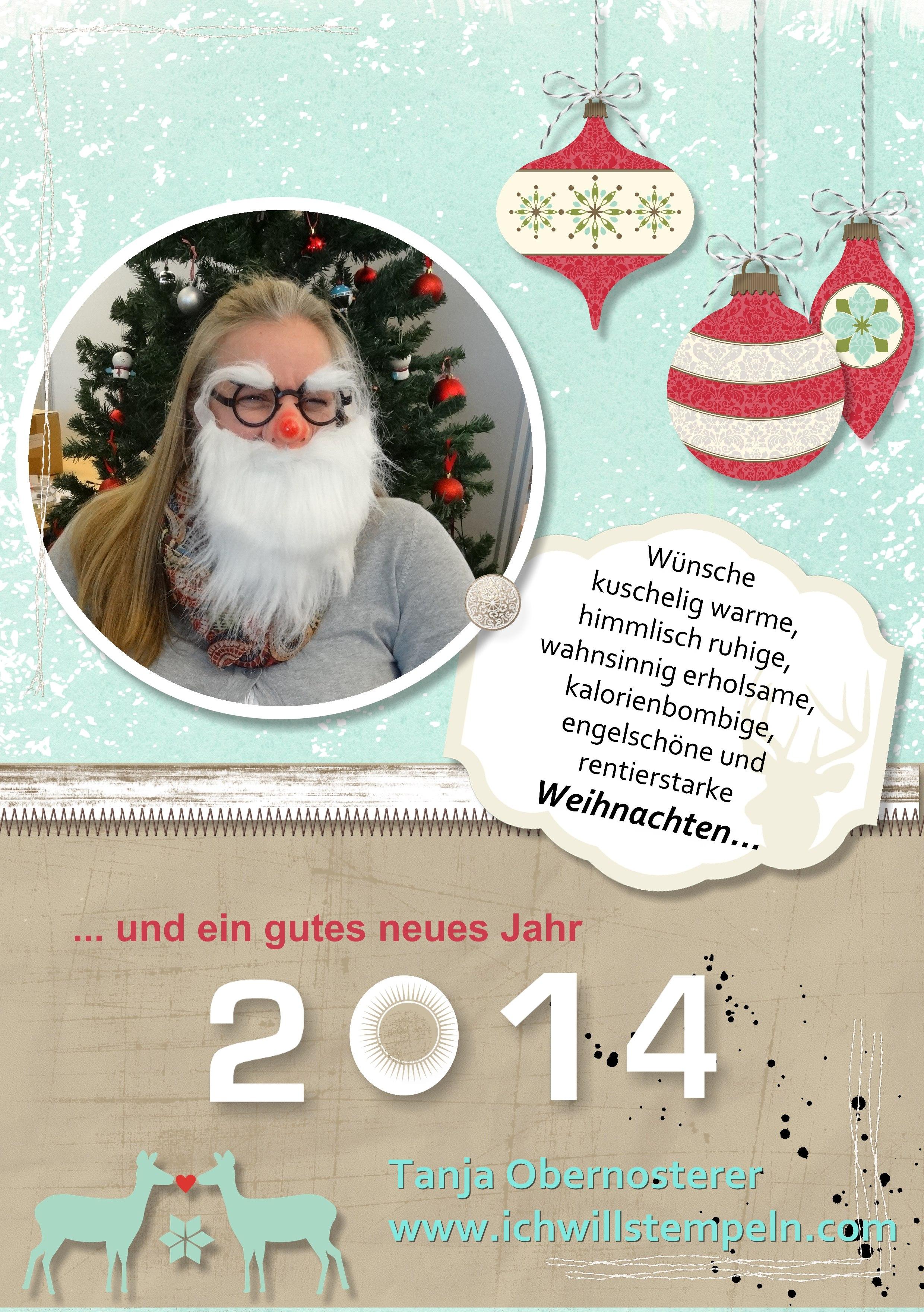 Weihnachten Neues Jahr 2014