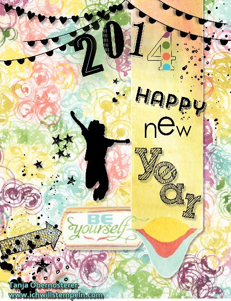 Happy New 2014-ichwillstempeln.com