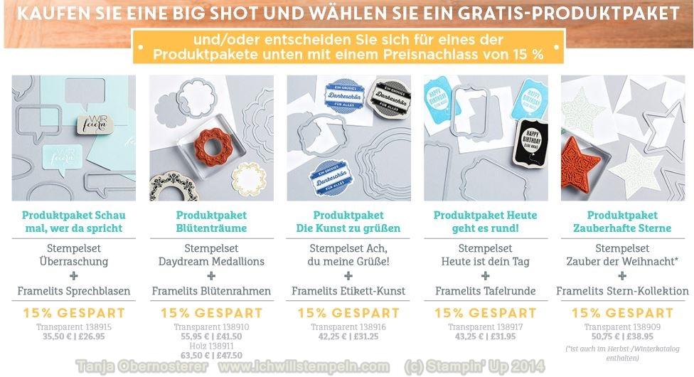 BigShot -Produktpakete