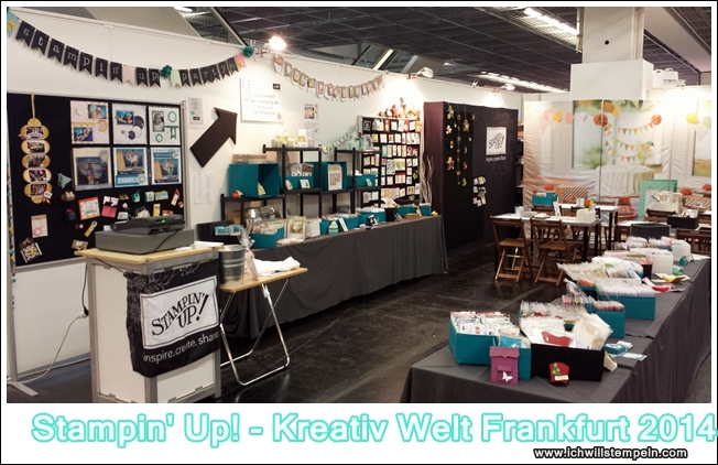 Kreativ Welt Frankfurt 2014 -ichwillstempeln.com