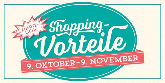 Mehr Shoppinvorteile im Herbst 2015