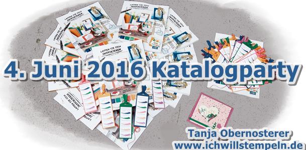 Katalogparty 2016 Stampinup Junu