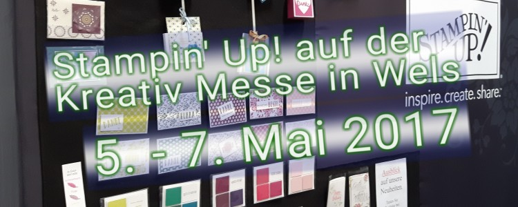 stampin up kreativmesse wels